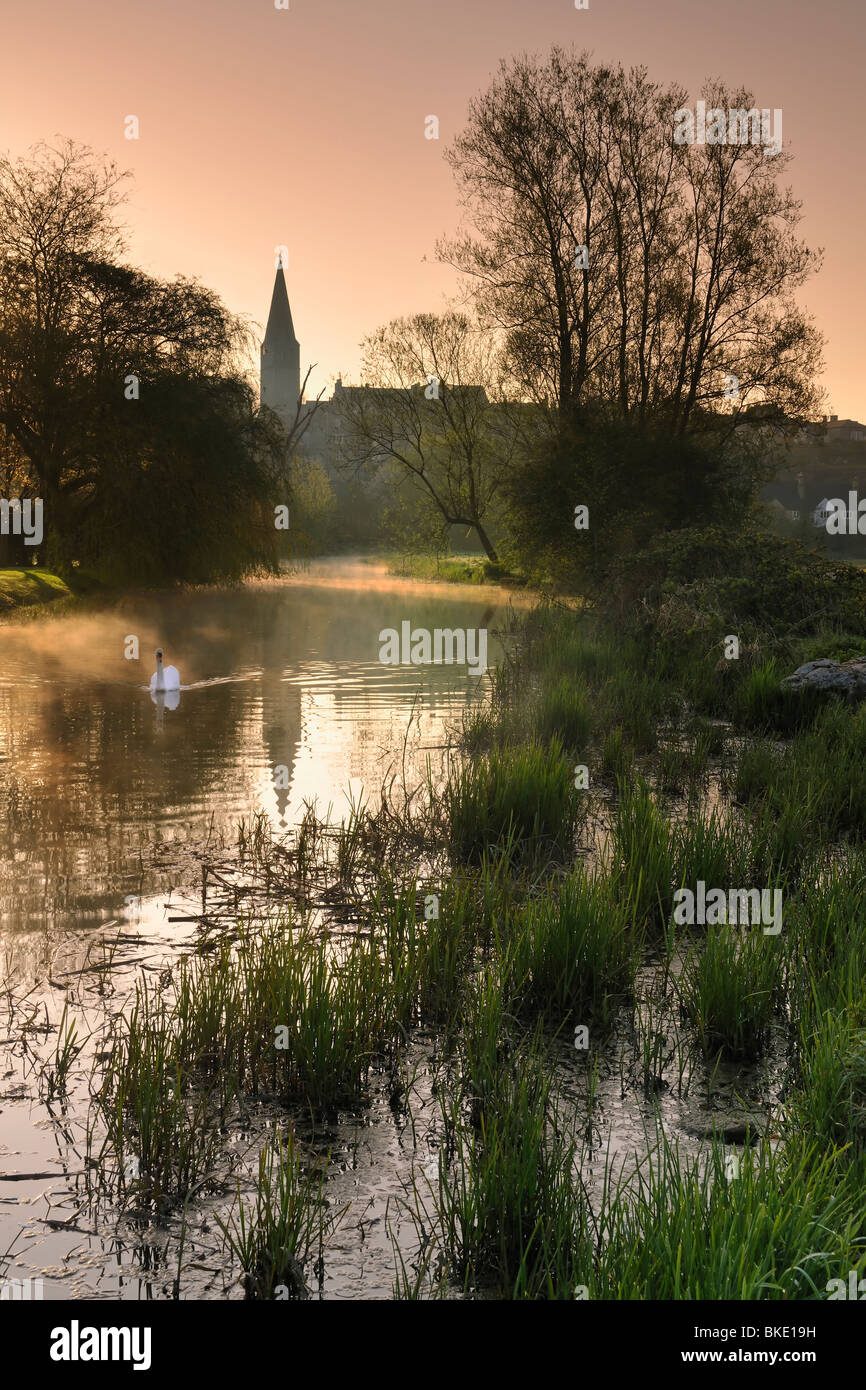 Avon Dawn - Stock Image