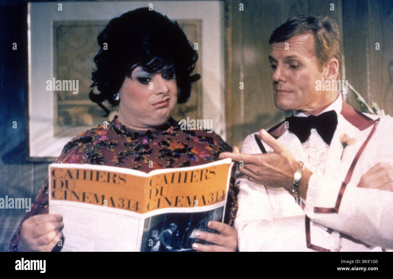 POLYESTER (1981) DIVINE, TAB HUNTER POLY 002 - Stock Image