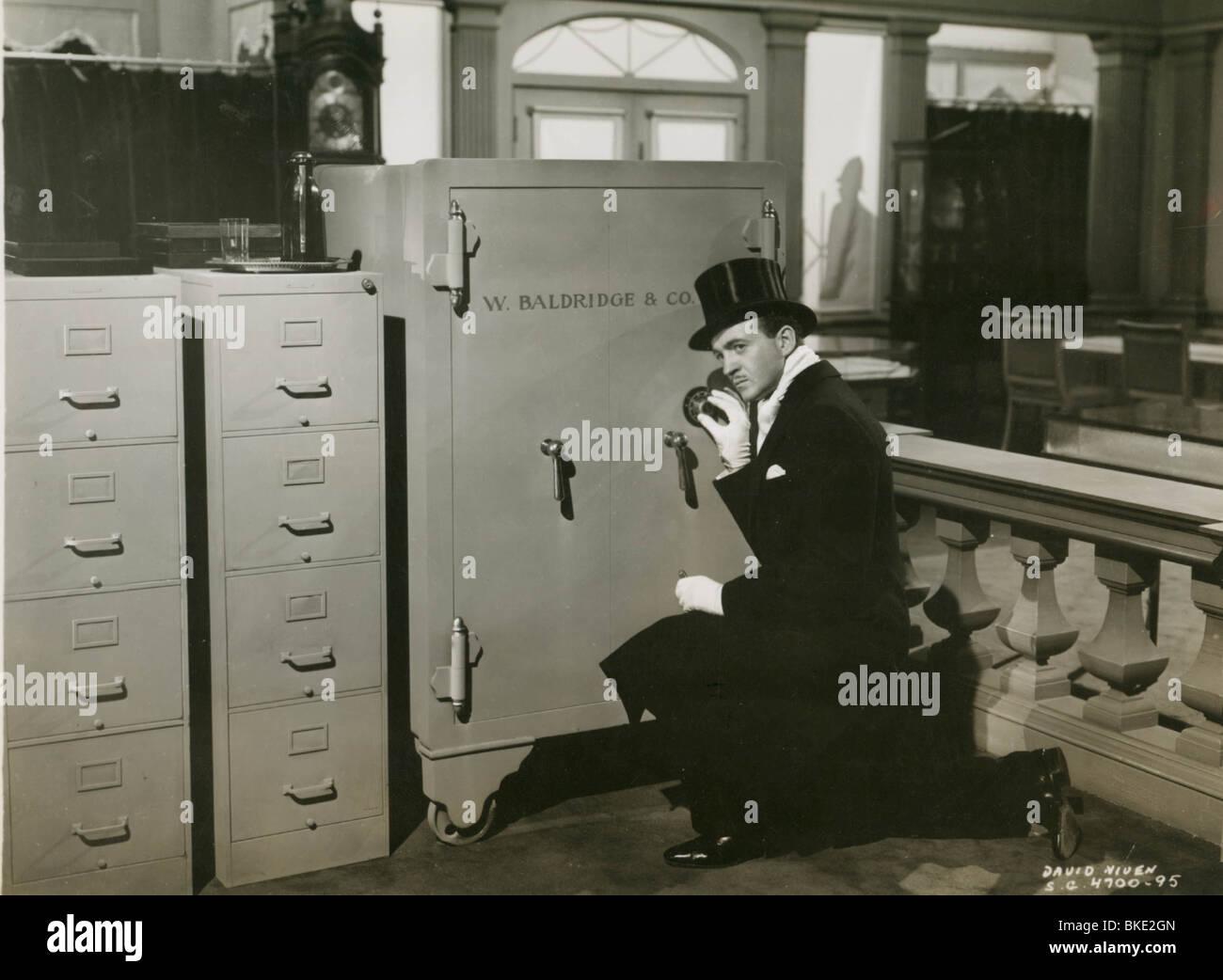 RAFFLES -1940 DAVID NIVEN - Stock Image