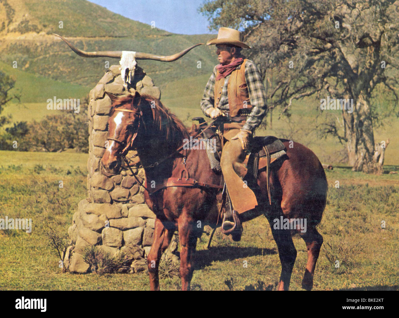 THE RARE BREED (1966) JAMES STEWART RABR 002FOH - Stock Image