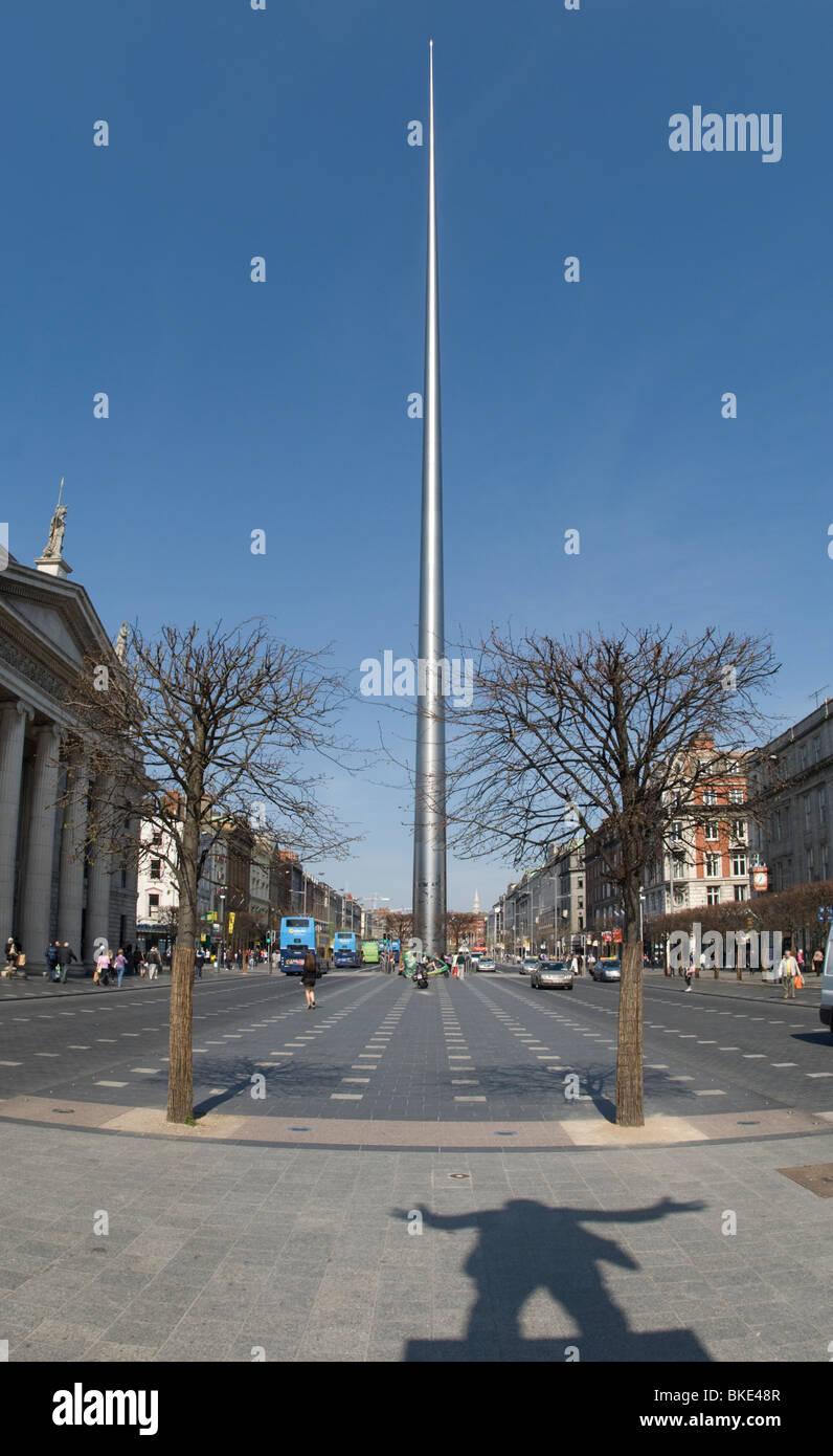 Spire of Dublin - Stock Image