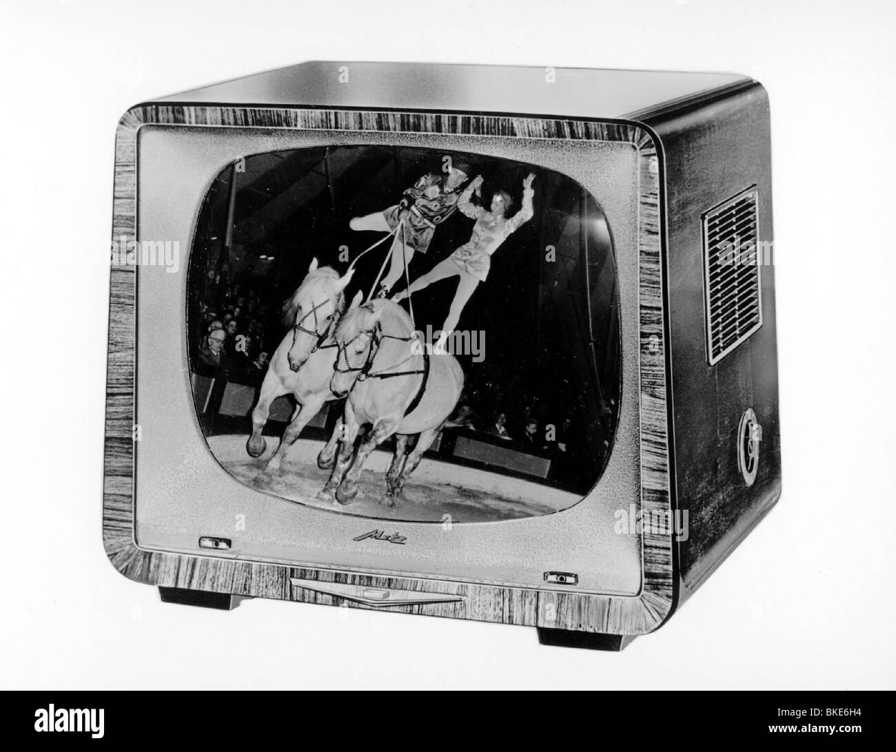 broadcast, television, television set, Metz 822 / 862, 1950s, , Additional-Rights-Clearances-NA - Stock Image