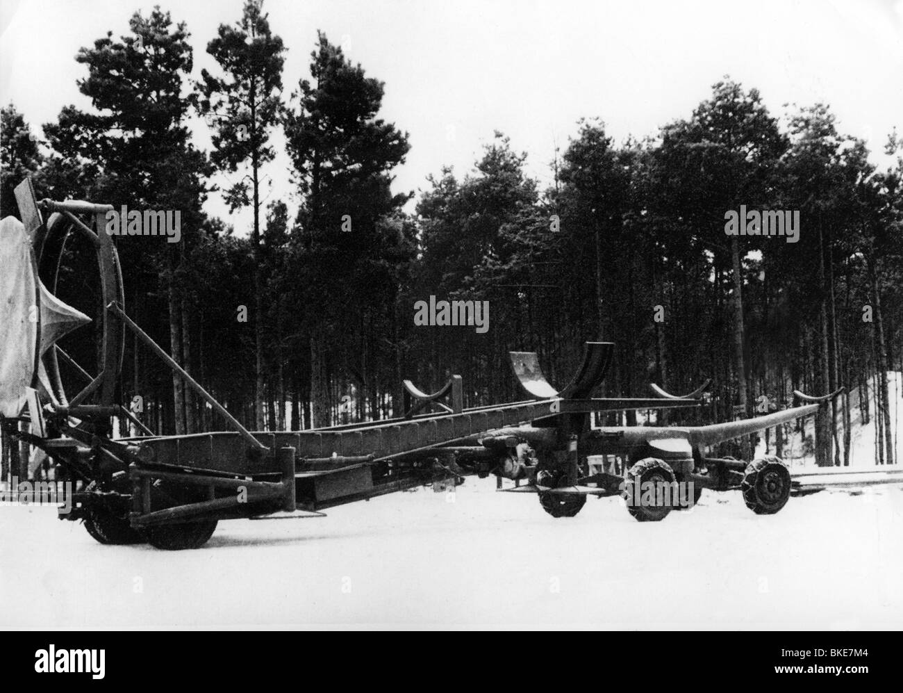 events, Second World War / WWII, Germany, Heeresversuchsanstalt (Army Research Center) Peenemuende 1942 - 1945, - Stock Image