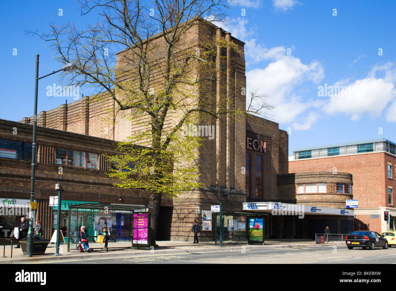 Old Odeon reopened as Reel Cinema on Blosson Street York Yorkshire UK - Stock Image