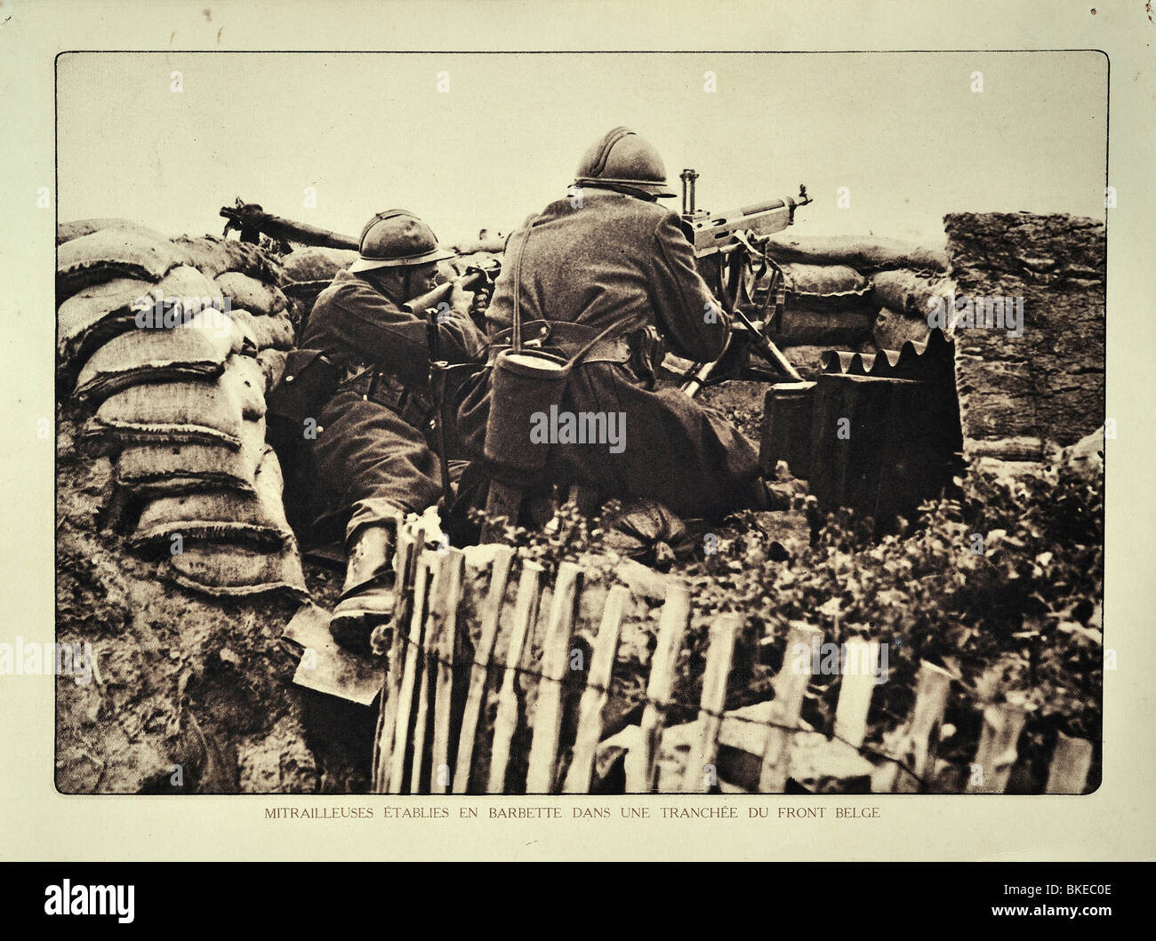 Machine Gun Wwi Stock Photos & Machine Gun Wwi Stock Images