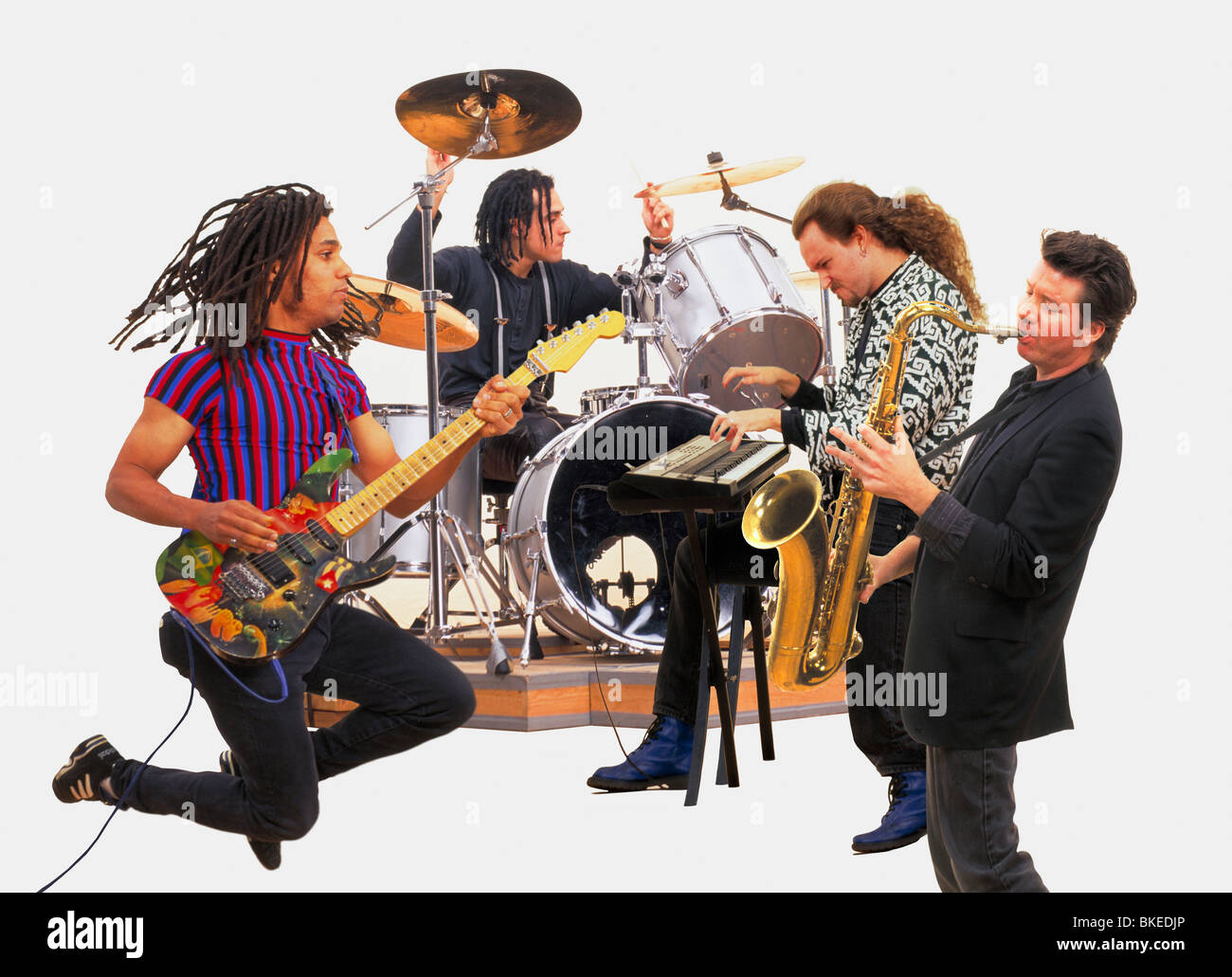 60s Rock Roll Band Stock Photos & 60s Rock Roll Band Stock