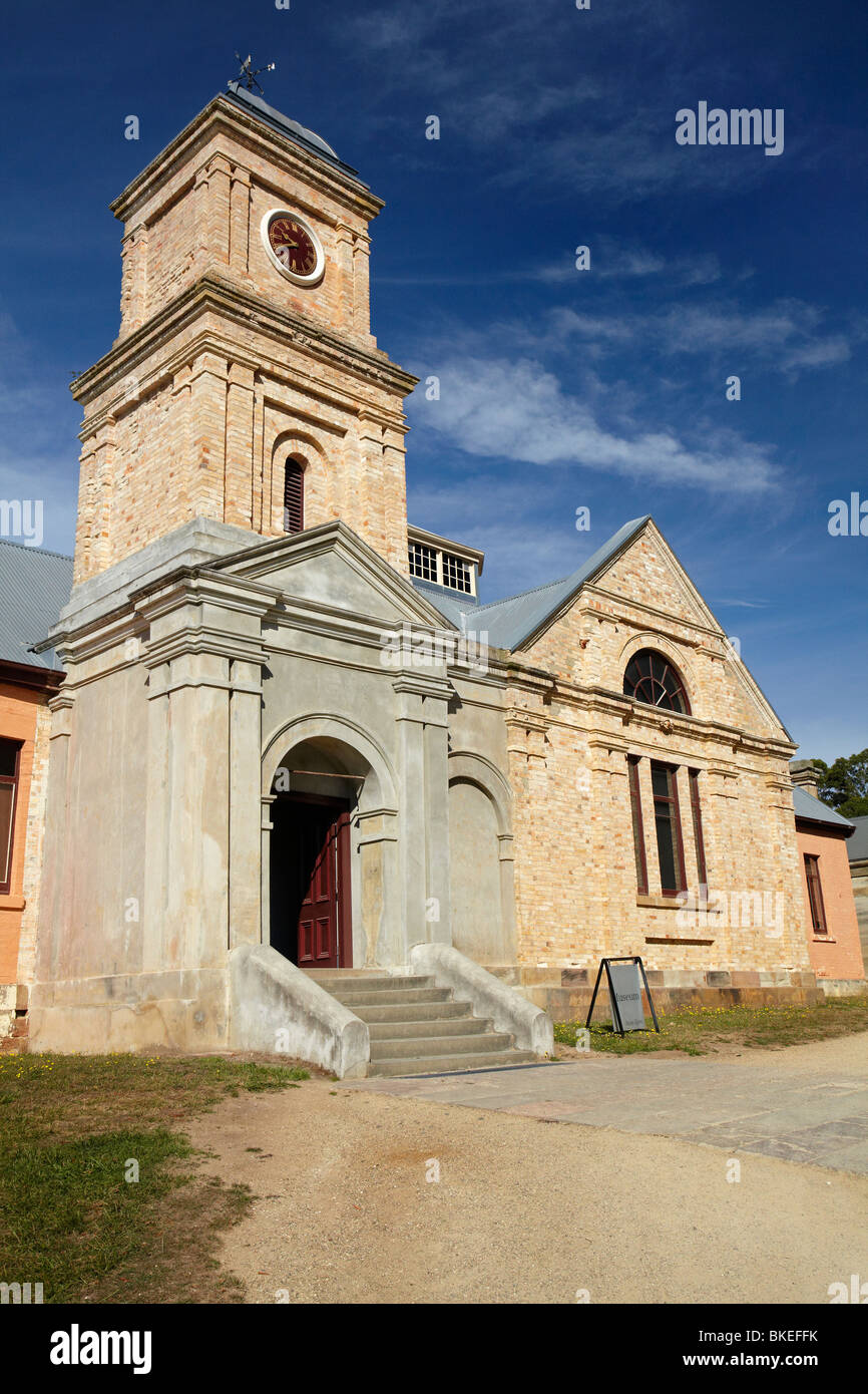 Museum and Asylum, Port Arthur Historic Penal Colony, Tasman Peninsula, Southern Tasmania, Australia - Stock Image