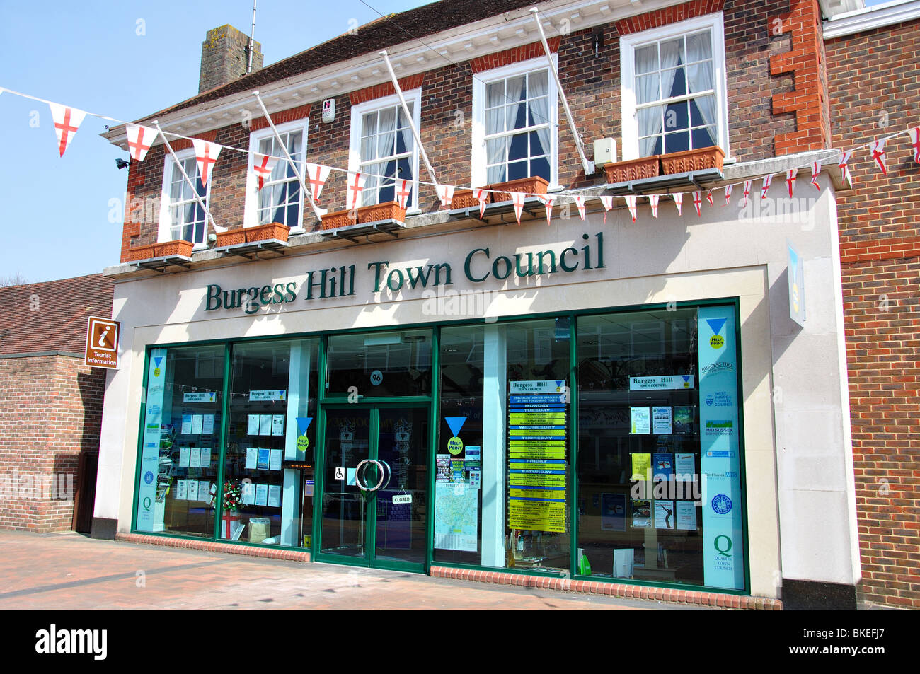 Burgess hill town council and tourist office building for Burgess builders