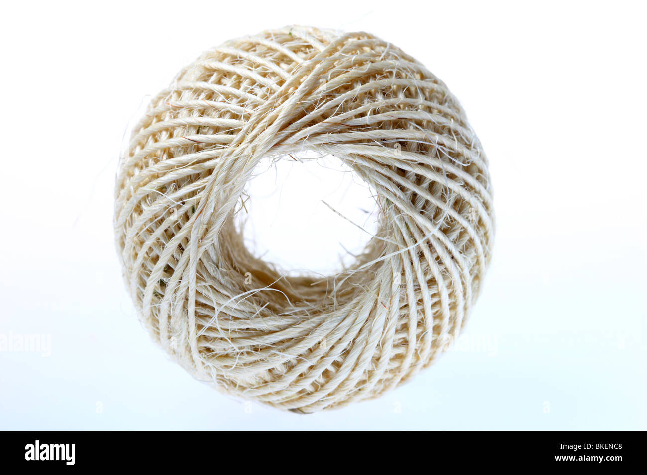 package cord, coiled to a role. Germany, Europe. - Stock Image