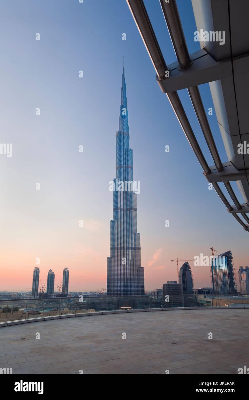 The Burj Khalifa, Dubai, UAE, United Arab Emirates Stock Photo