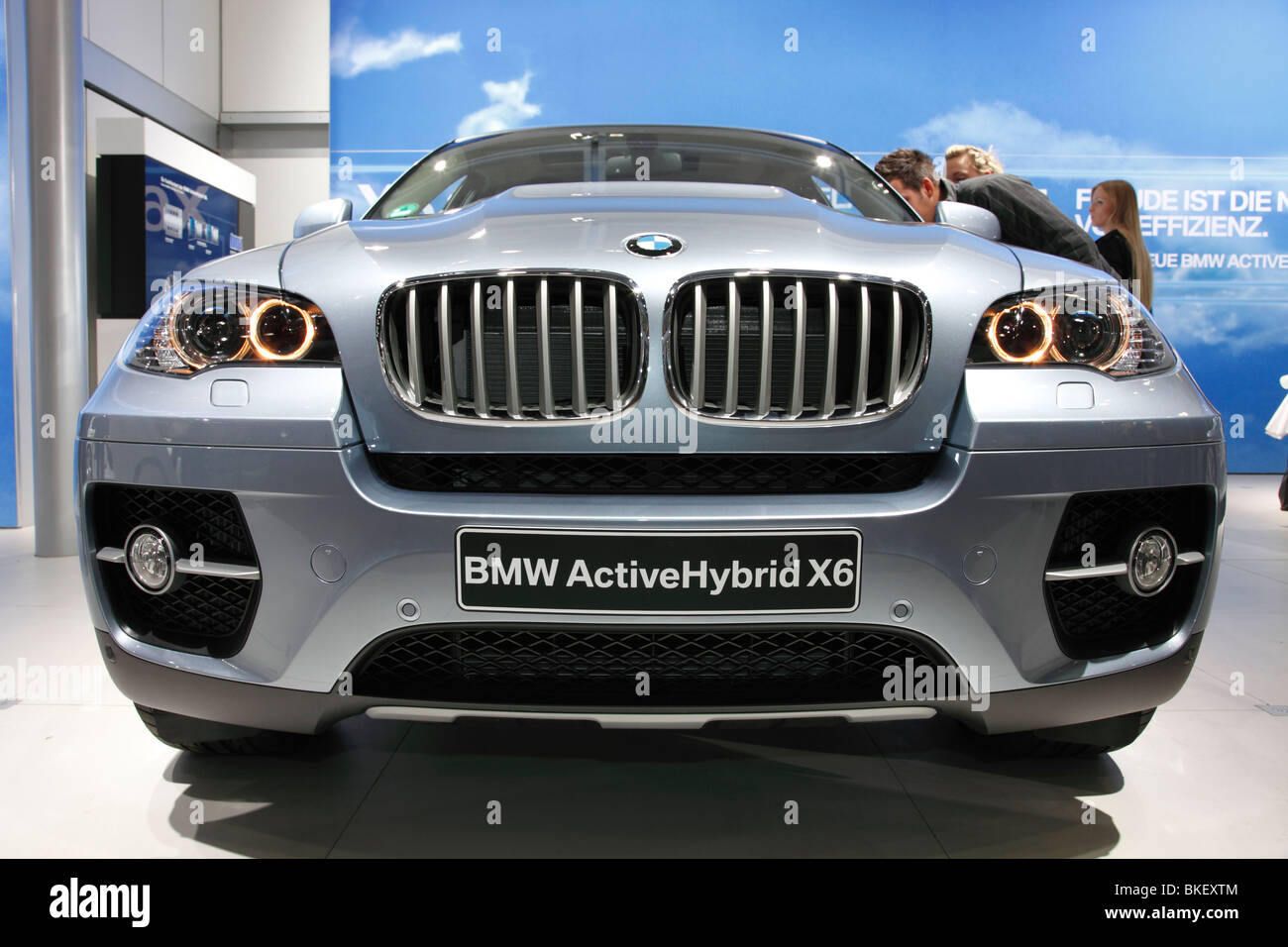 BMW ActiveHybrid X6 at the Auto Mobil International (AMI); Motor Show 2010 in Leipzig, Germany Stock Photo