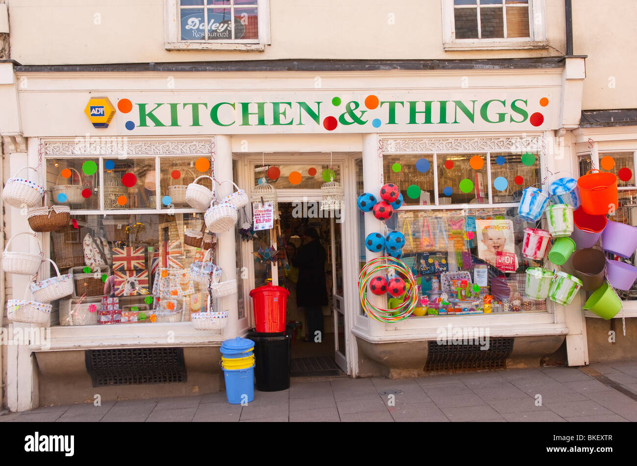 The Kitchen & Things shop store in Bury Saint Edmunds , Suffolk , England , Great Britain , UK - Stock Image