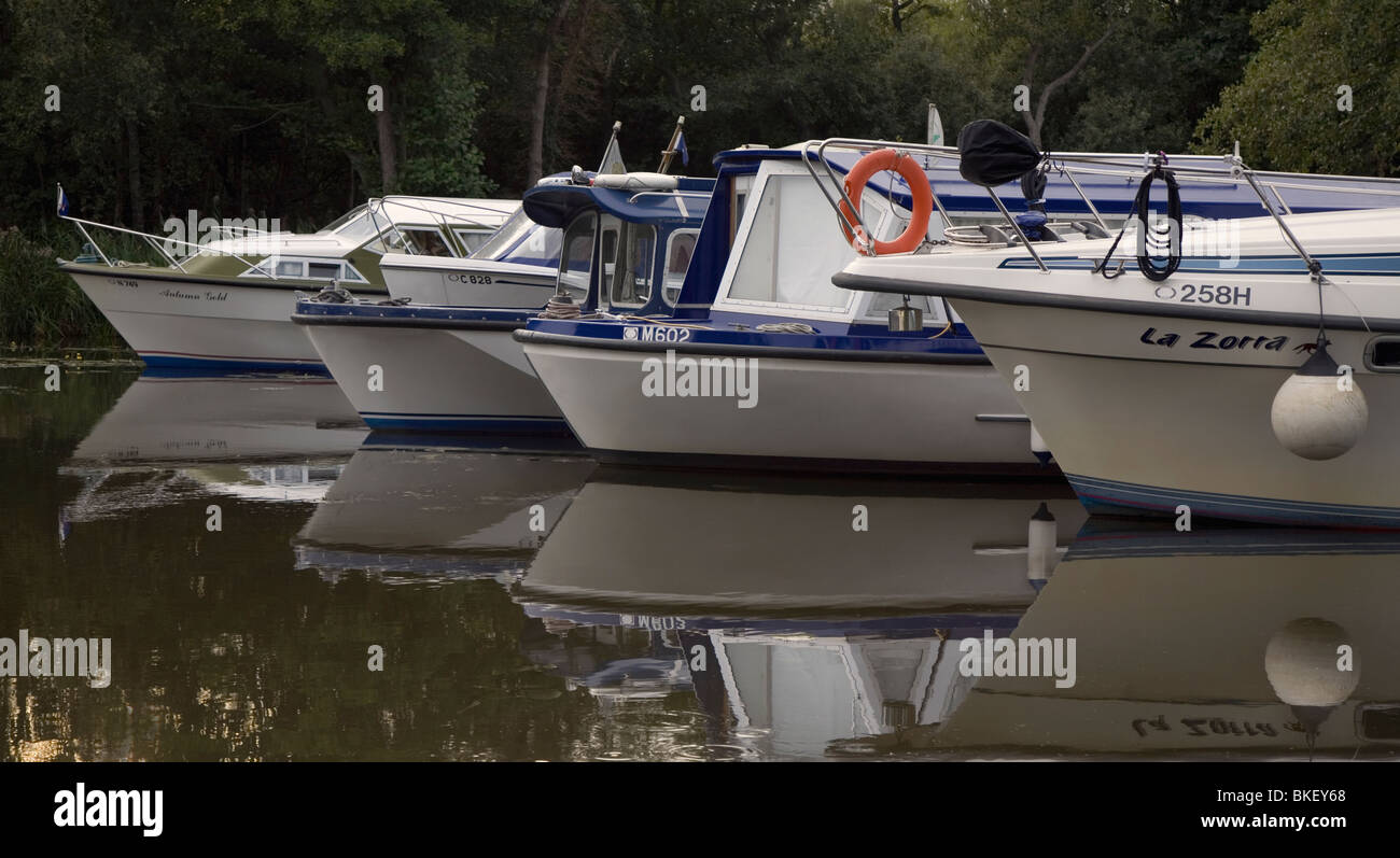 River Cruisers, - Stock Image