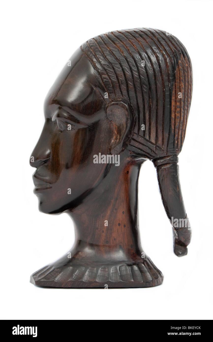 African ebony wood carvings