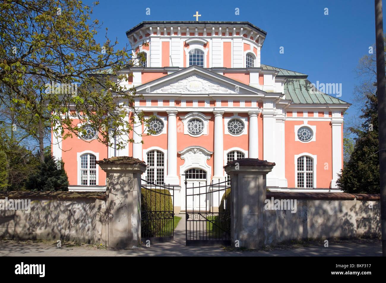 Schloss Kirche, Buch, Berlin, Germany - Stock Image