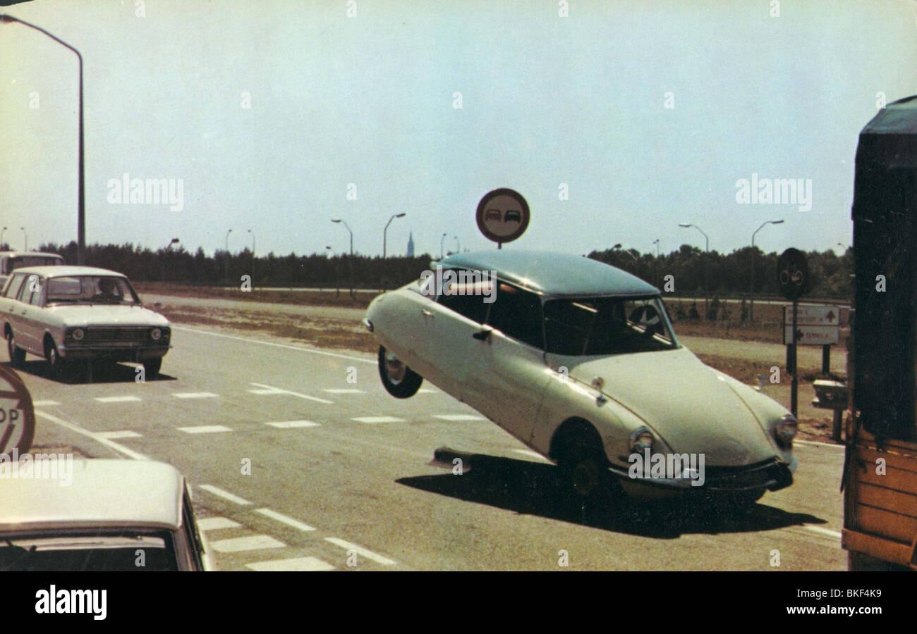 TRAFFIC -1970 - Stock Image