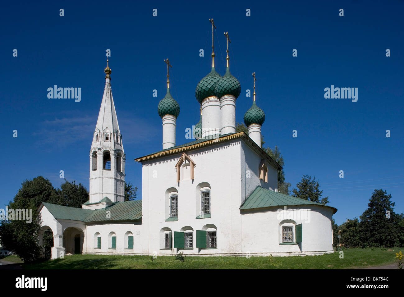 Russia,Golden Ring ,Yaroslavl,1695,Church of St Nicholas 'at the Timber Town' - Stock Image