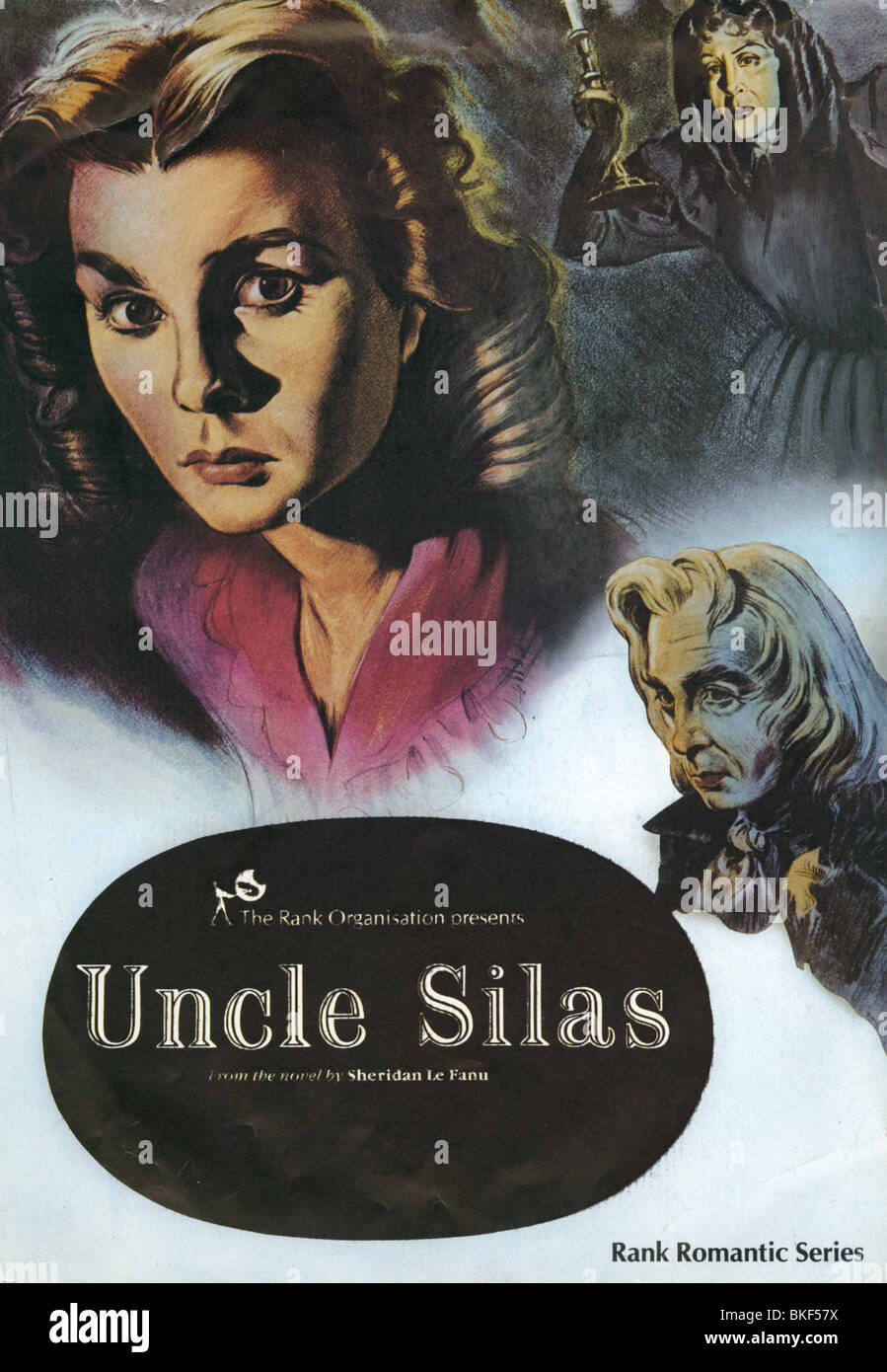 UNCLE SILAS -1947 POSTER - Stock Image