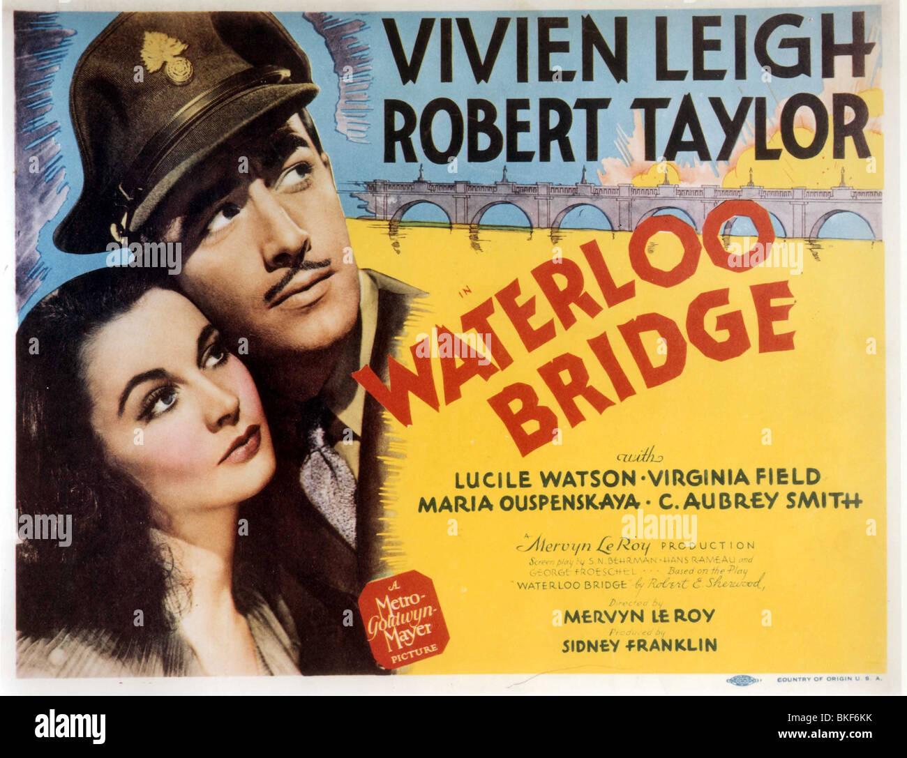 WATERLOO ROAD -1940 POSTER - Stock Image