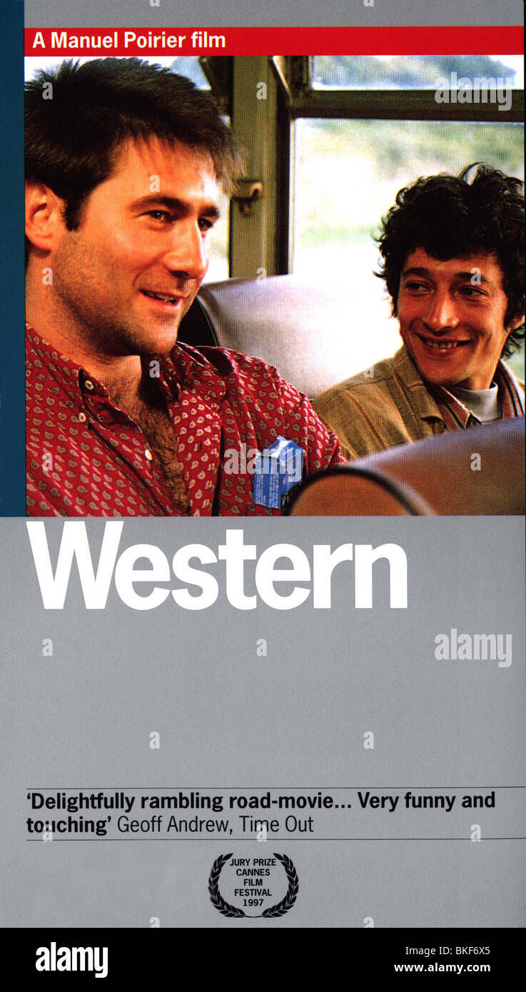 WESTERN -1997 POSTER - Stock Image