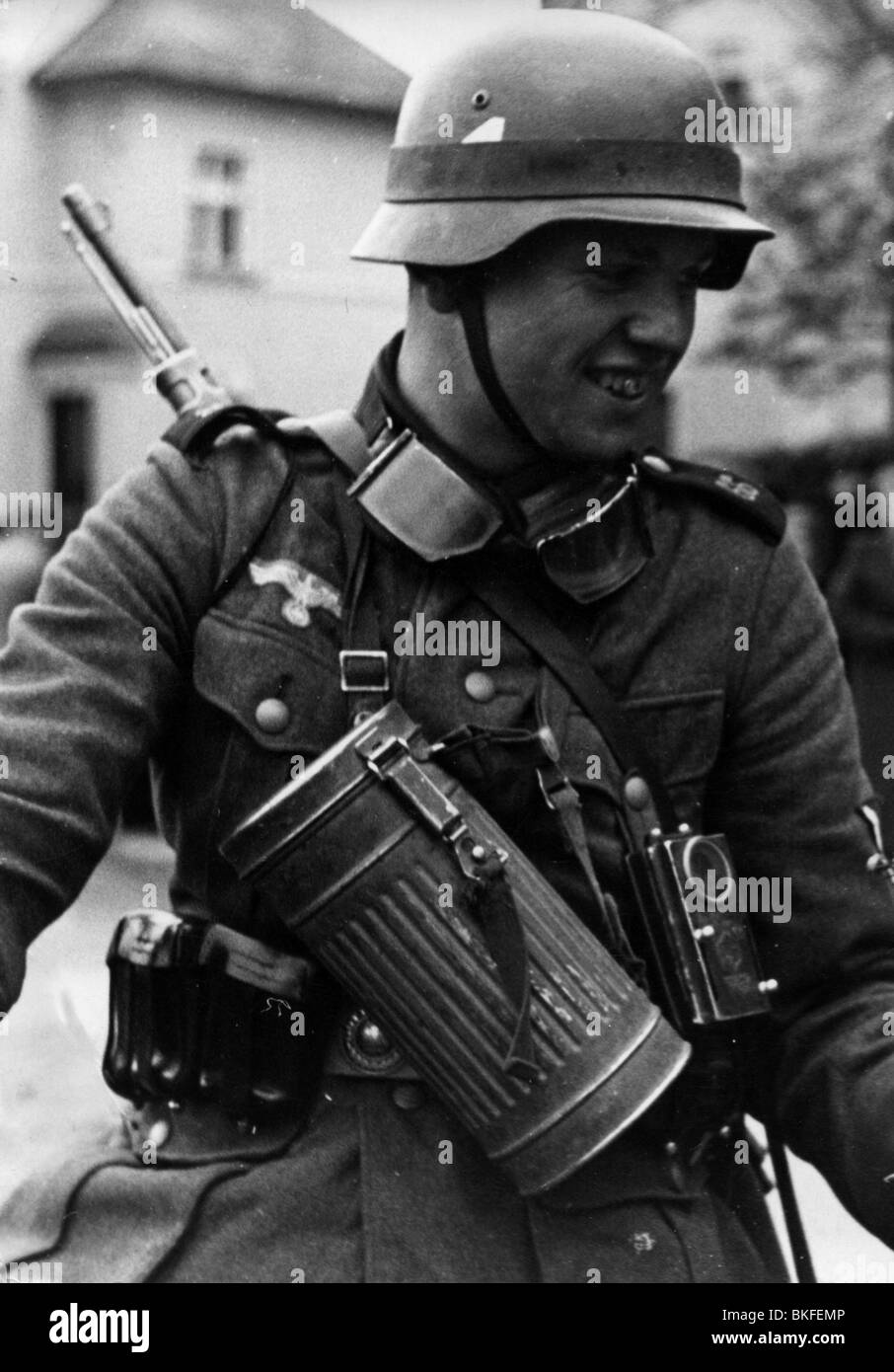 Nazism / National Socialism, military, German mountain troops during
