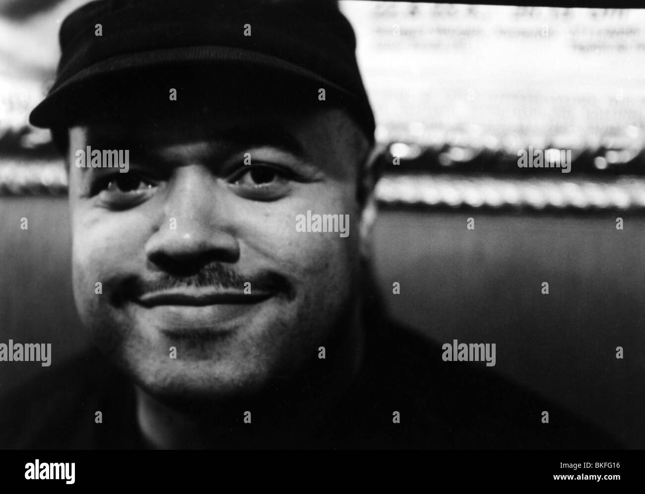 Chambers, Dennis, * 9.5.1959, American musician (jazz drummer), portrait, Stuttgart, 1997, Additional-Rights-Clearances - Stock Image