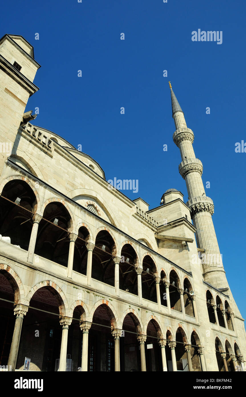 Blue Mosque at Istambul - Stock Image