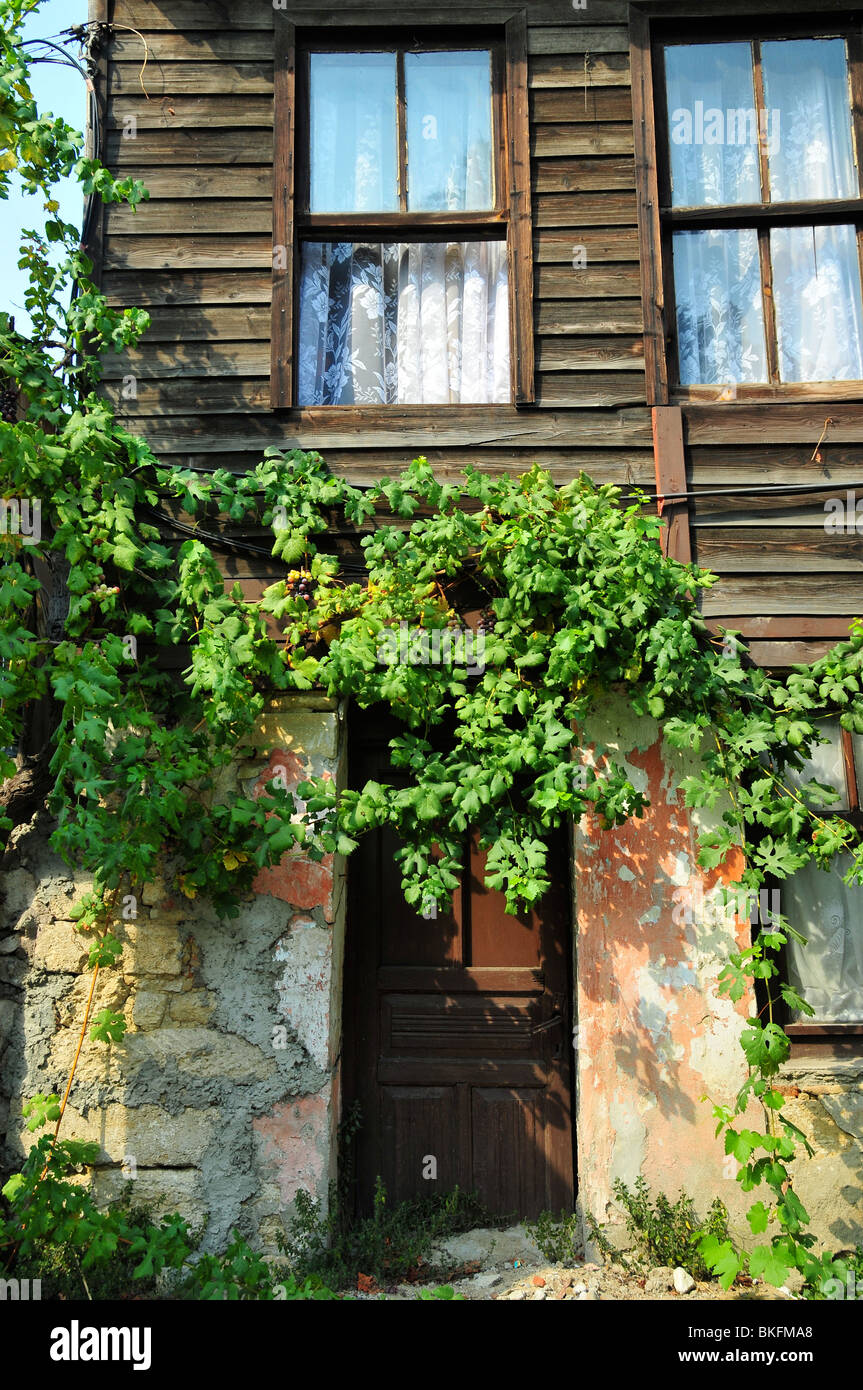 Old house at Pierre Loti Istambul - Stock Image