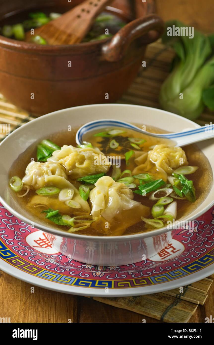 Wonton Soup Stock Photos & Wonton Soup Stock Images - Alamy