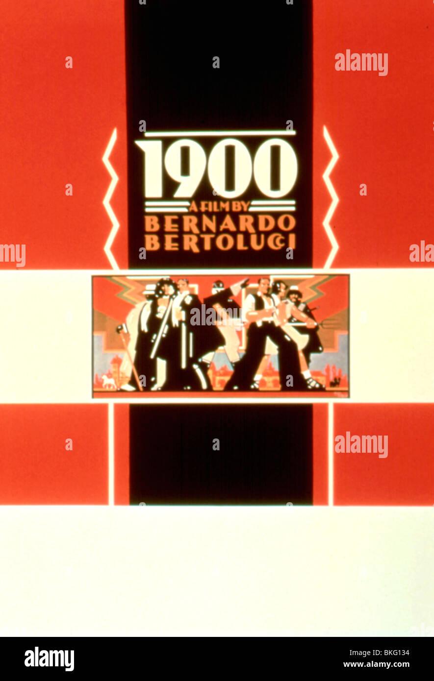 1900 (1976) NINETEEN HUNDRED (ALT) POSTER NTH 003 - Stock Image