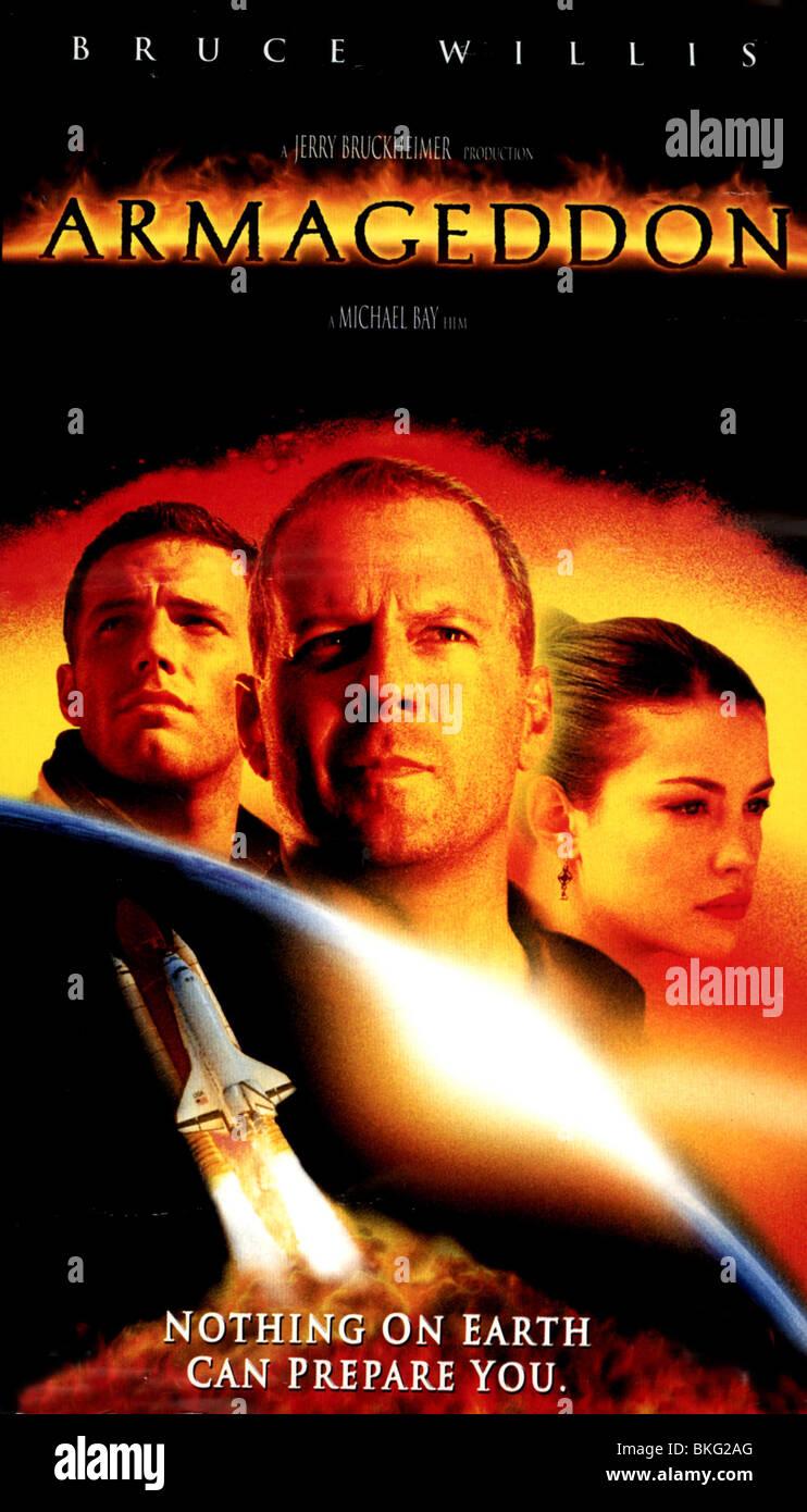 ARMAGEDDON -1998 POSTER - Stock Image