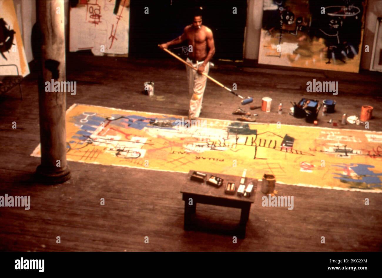 BASQUIAT -1996 JEFFREY WRIGHT - Stock Image