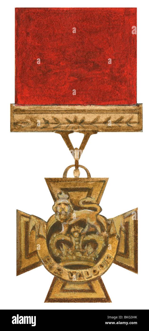 Victoria Cross - Stock Image