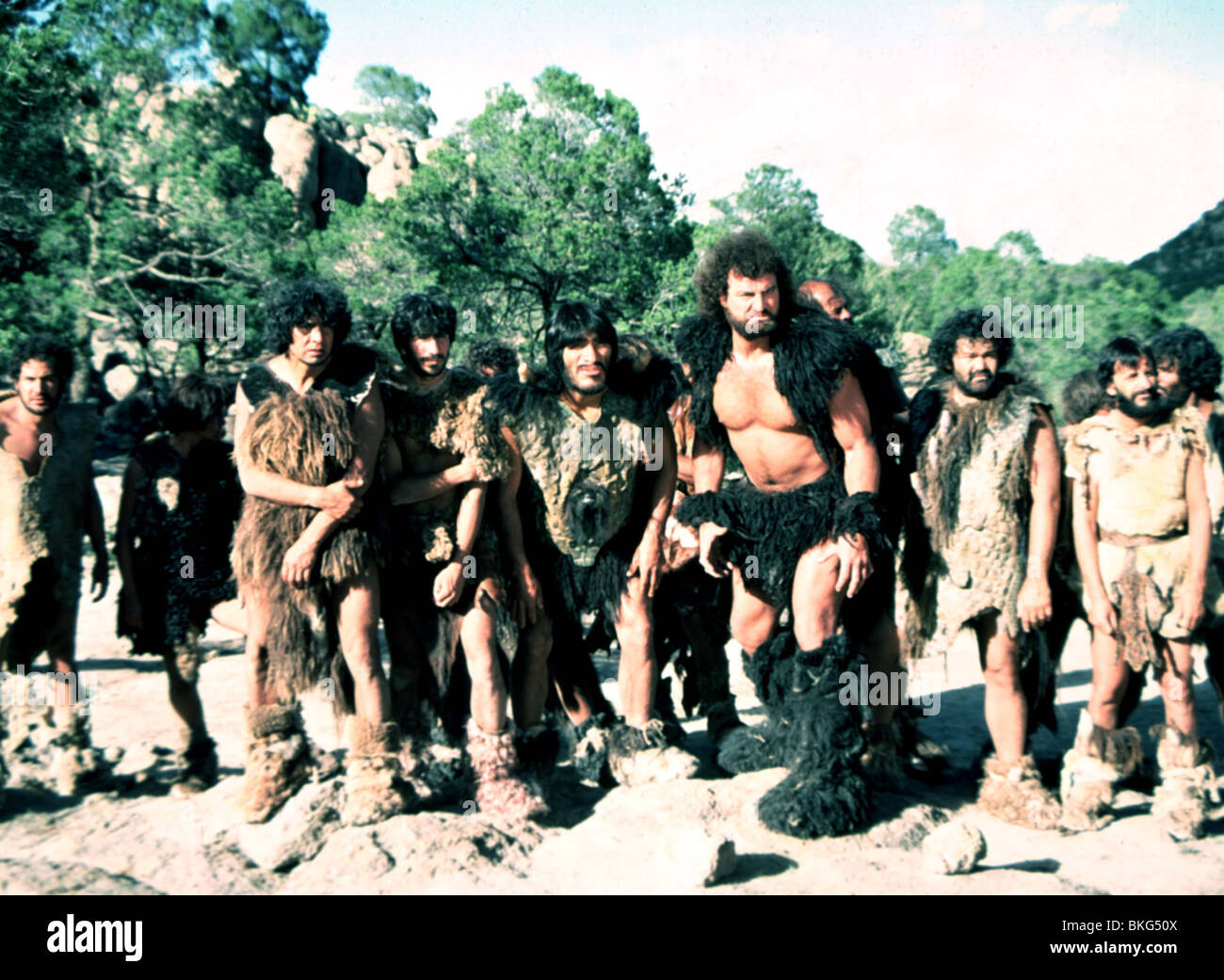 CAVEMAN -1981 - Stock Image