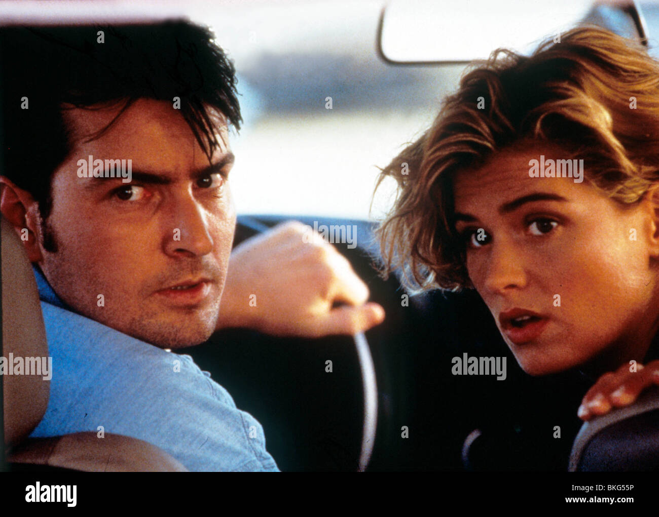 THE CHASE (1994) CHARLIE SHEEN, KRISTY SWANSON CHAS 018 - Stock Image