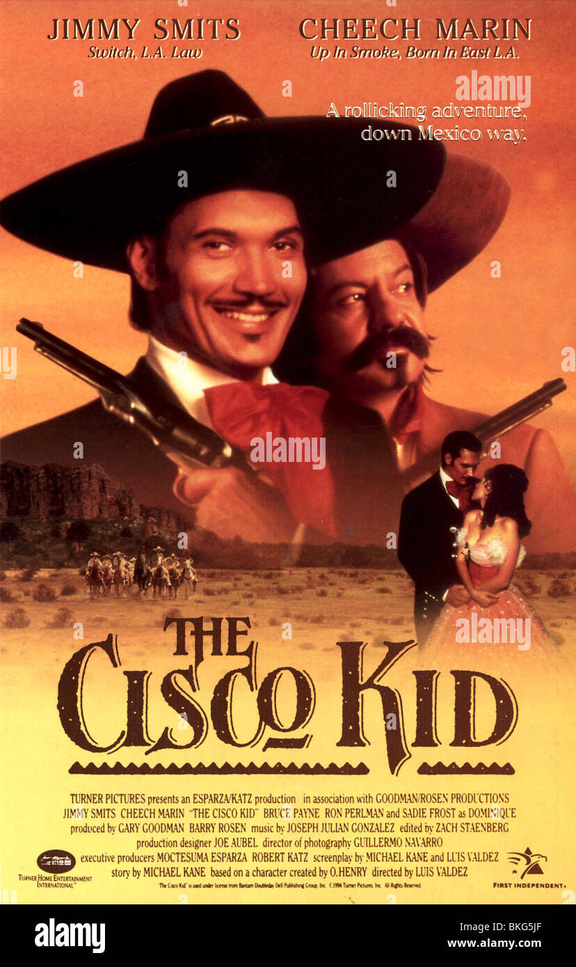 THE CISCO KID 1994 POSTER