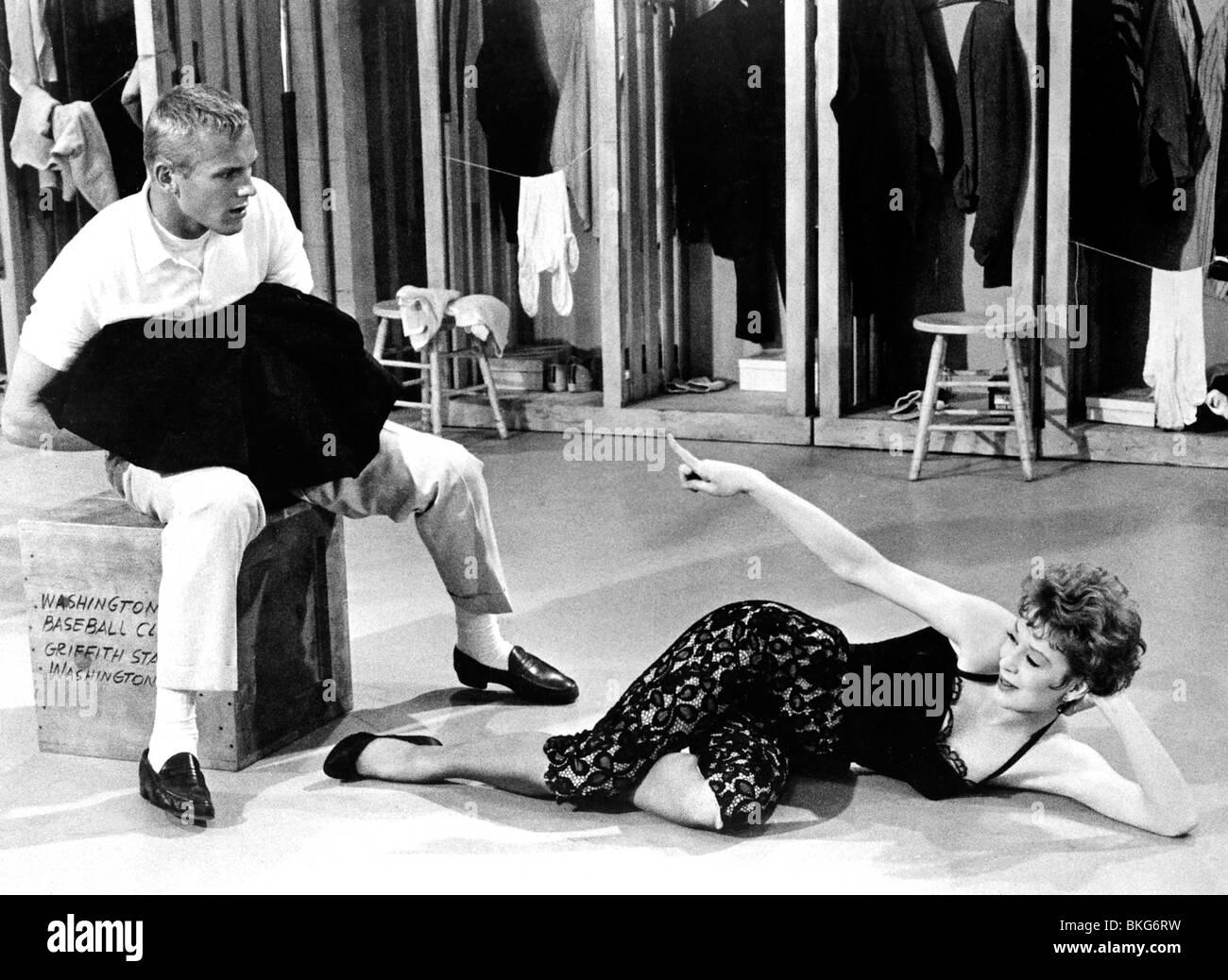 DAMN YANKEES (1958) TAB HUNTER, GWEN VERDON DYKS 001 P - Stock Image