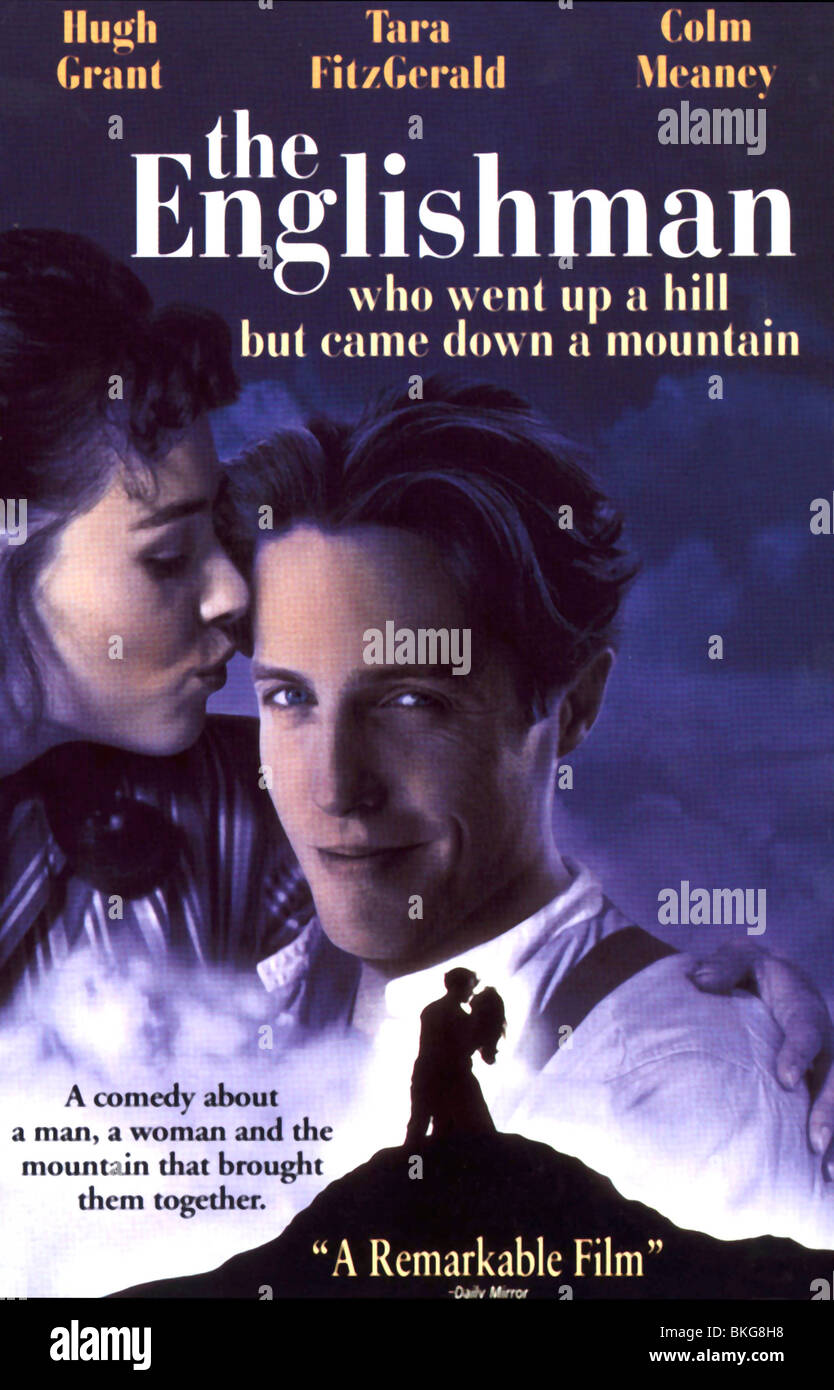 THE ENGLISHMAN WHO WENT UP A HILL BUT CAME DOWN A MOUNTAIN (1995) POSTER ENGL 001 VS - Stock Image