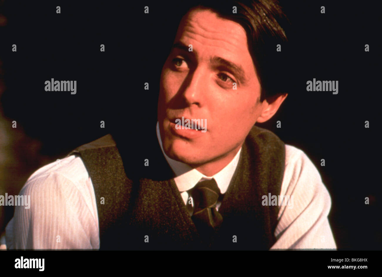 THE ENGLISHMAN WHO WENT UP A HILL BUT CAME DOWN A MOUNTAIN (1995) HUGH GRANT ENGL 056 - Stock Image