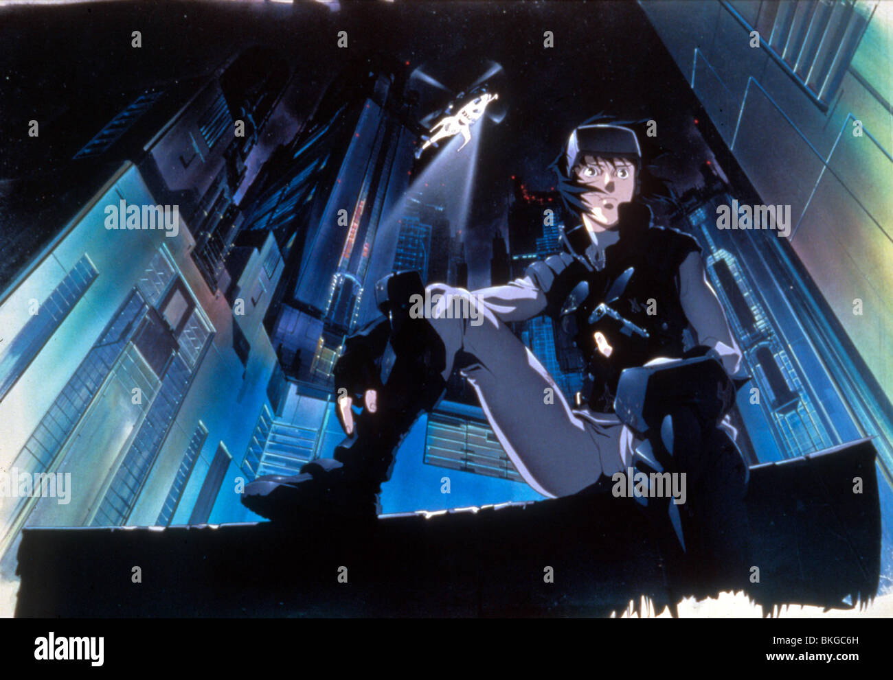 Ghost In The Shell 1995 Animation Gits 006 Stock Photo Alamy
