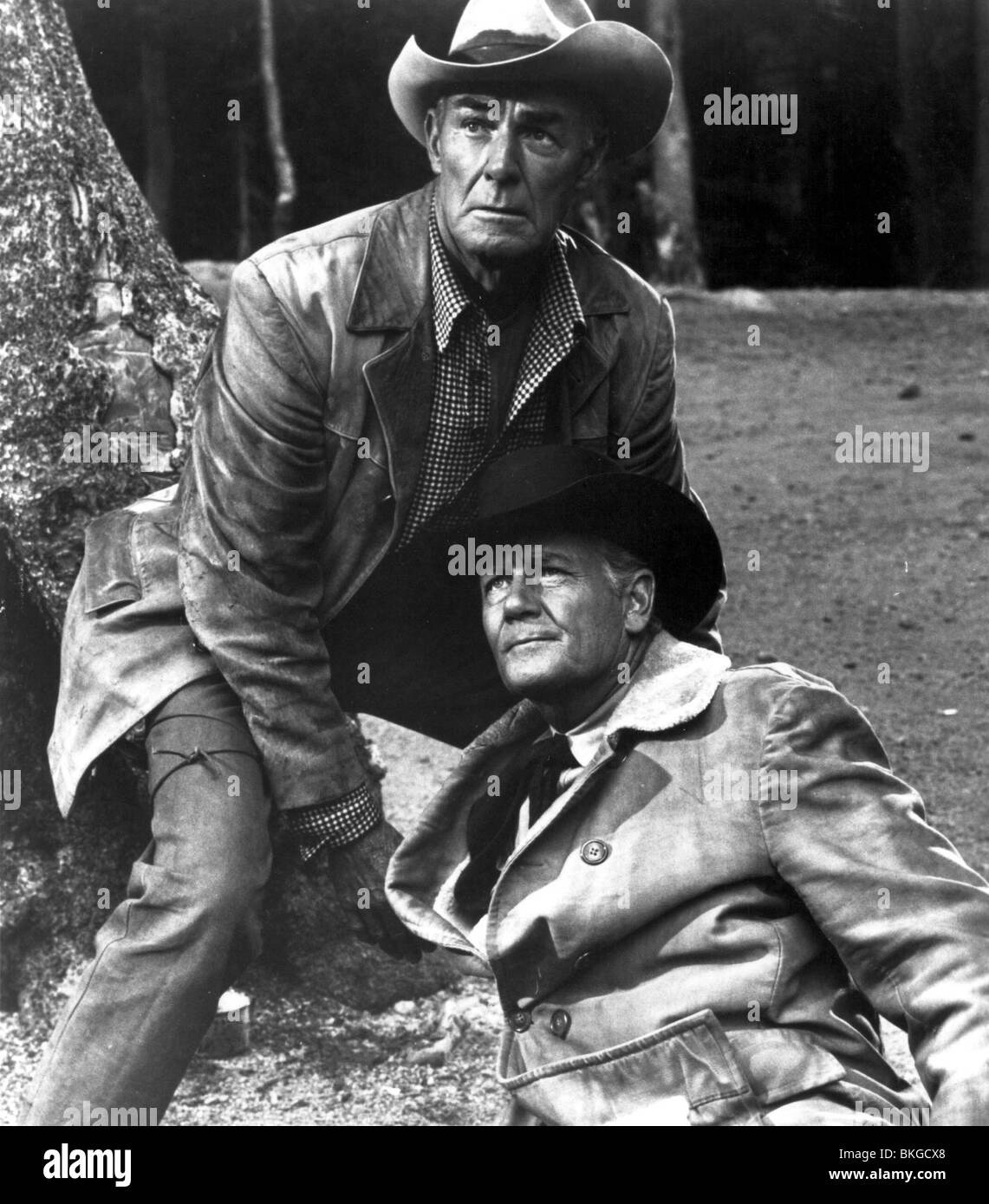 GUNS IN THE AFTERNOON (1962) RIDE THE HIGH COUNTRY (ALT) RANDOLPH SCOTT GITA 001-03 - Stock Image