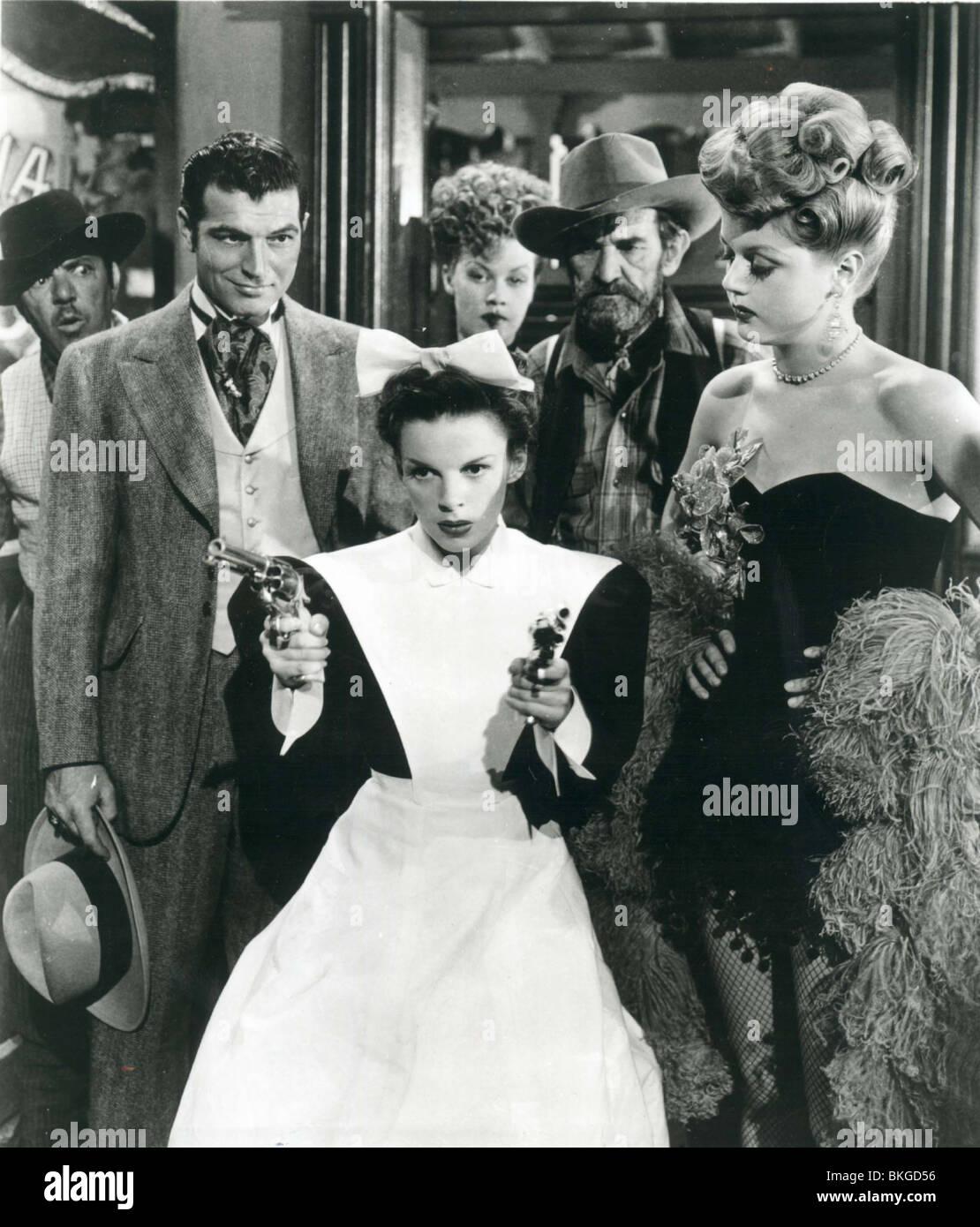 THE HARVEY GIRLS (1946) HORACE MCNALLY, JUDY GARLAND, ANGELA LANSBURY HRVG 001P - Stock Image