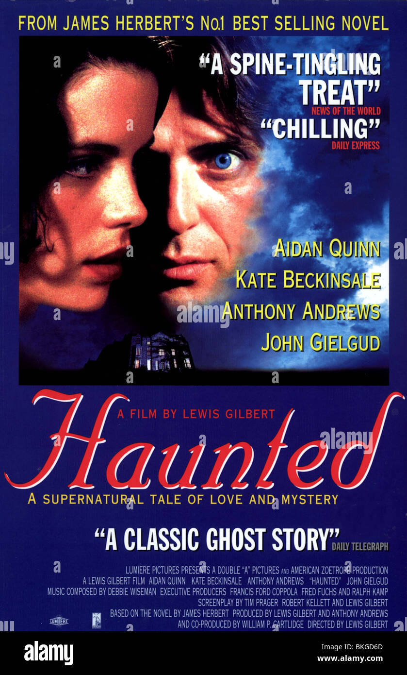 HAUNTED -1995 POSTER - Stock Image