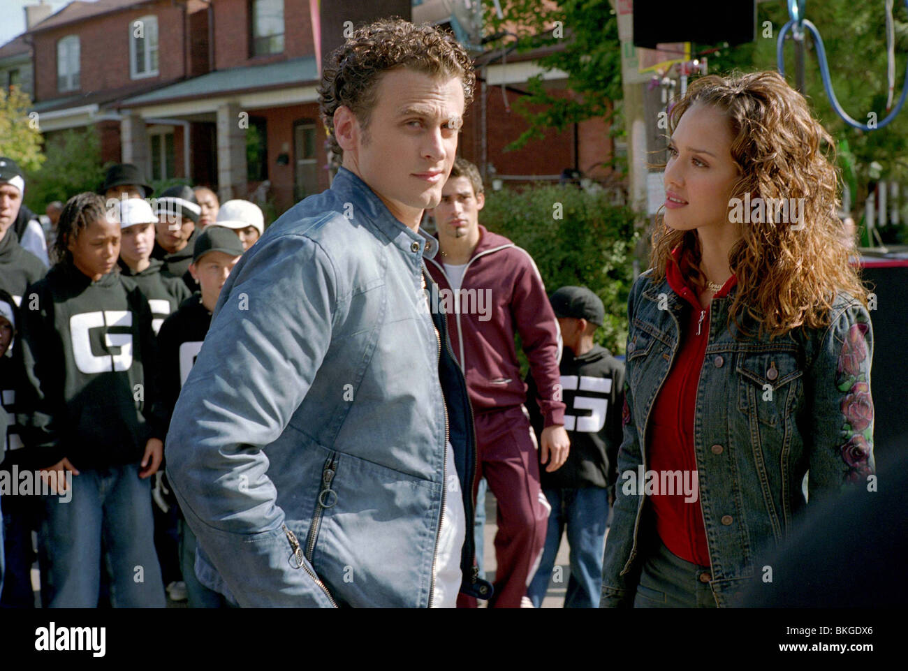 HONEY (2003) DAVID MOSCOW, JESSICA ALBA HONY 001-848-29 Stock Photo