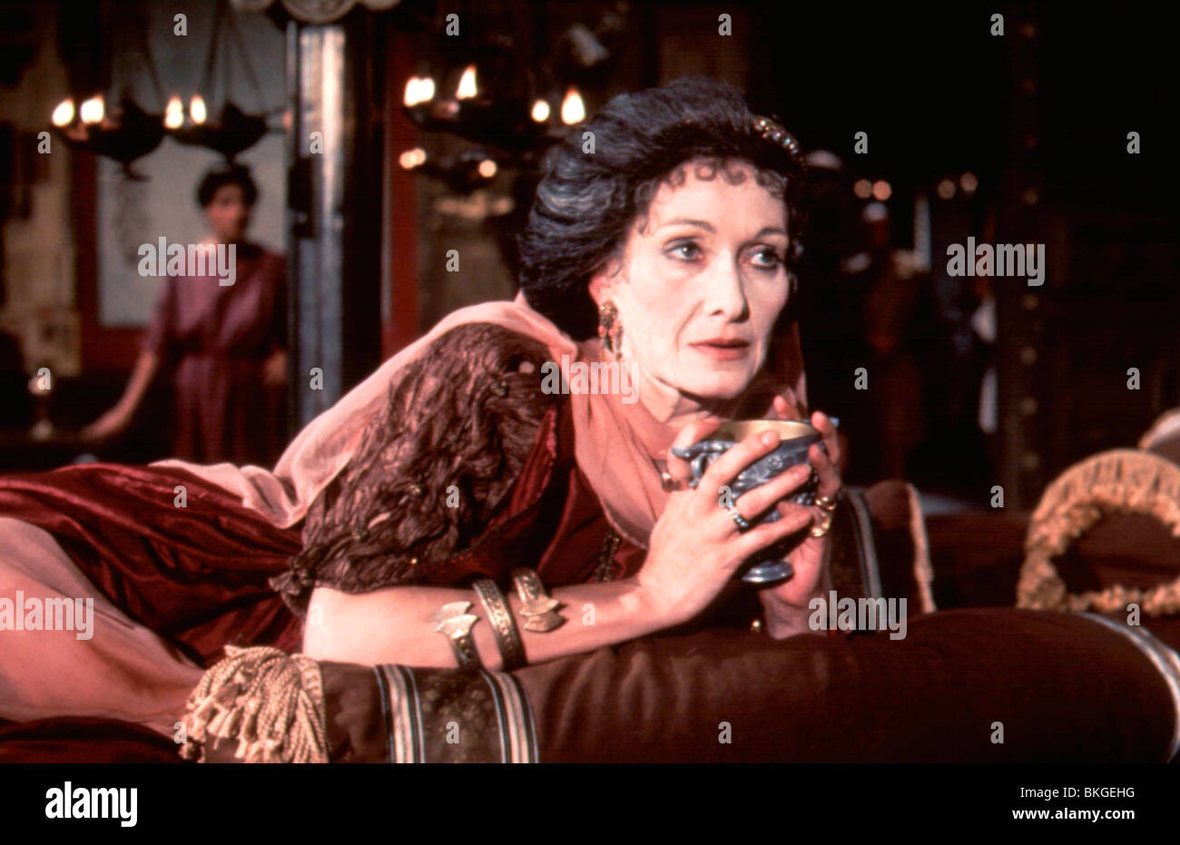 I, CLAUDIUS (TV) SIAN PHILLIPS - Stock Image
