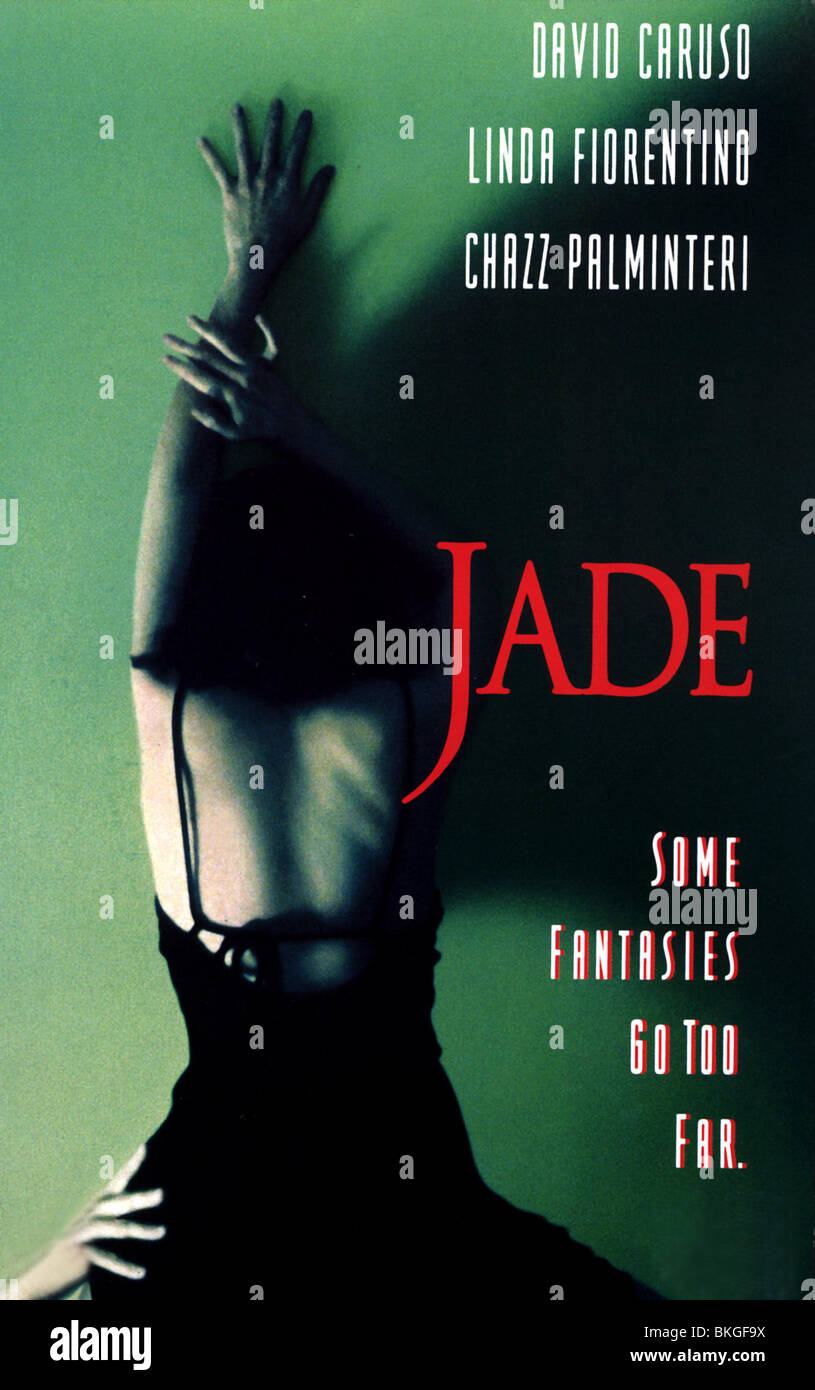 JADE -1995 POSTER - Stock Image