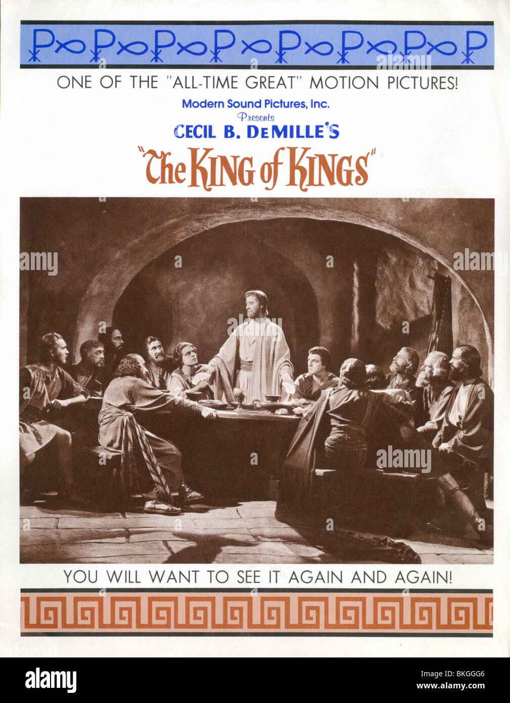 THE KING OF KINGS (1927) POSTER KOKG 001PP - Stock Image