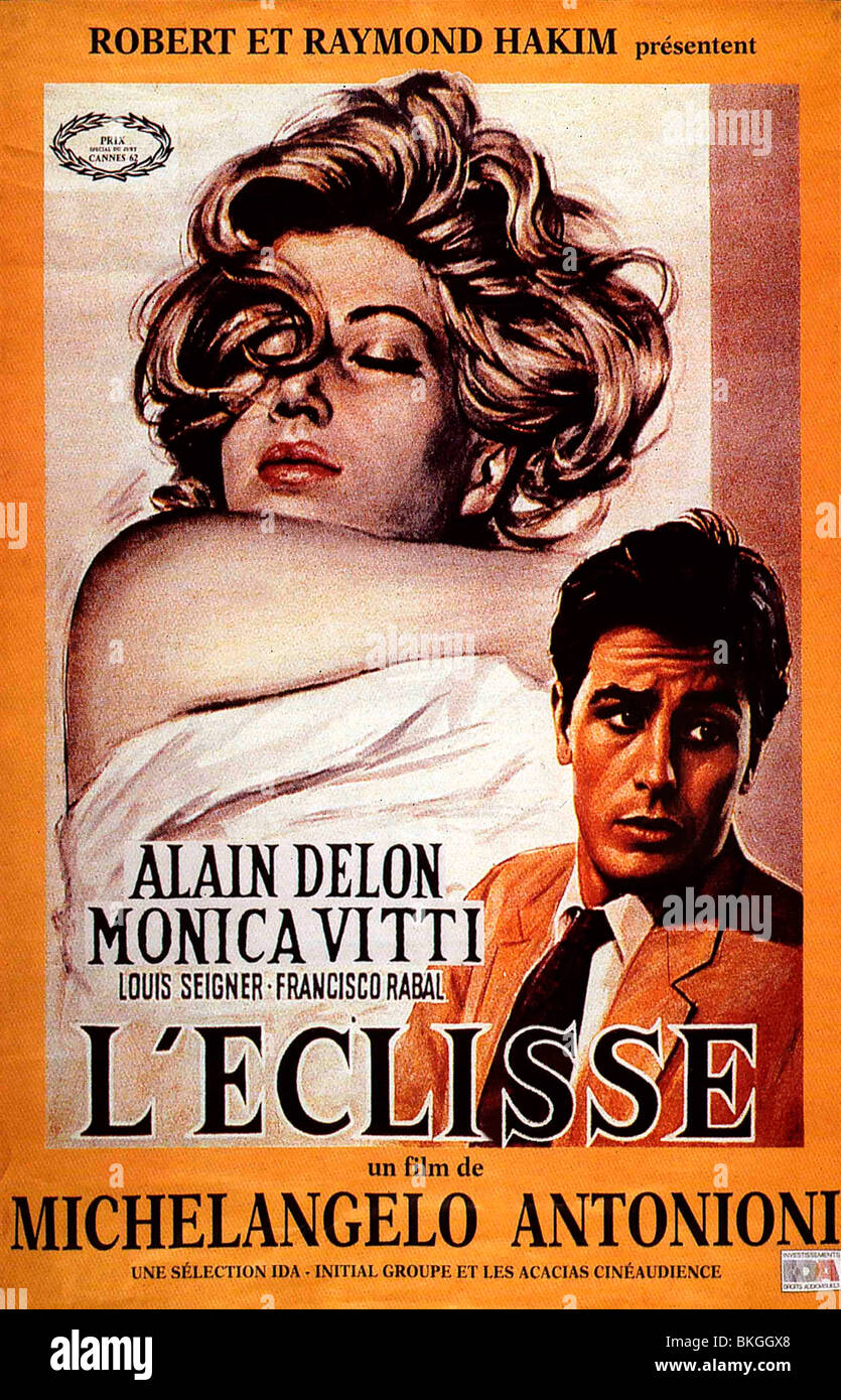 L'ECLISSE (1962) THE ECLIPSE (ALT) POSTER ECLP 001 VS Stock Photo - Alamy