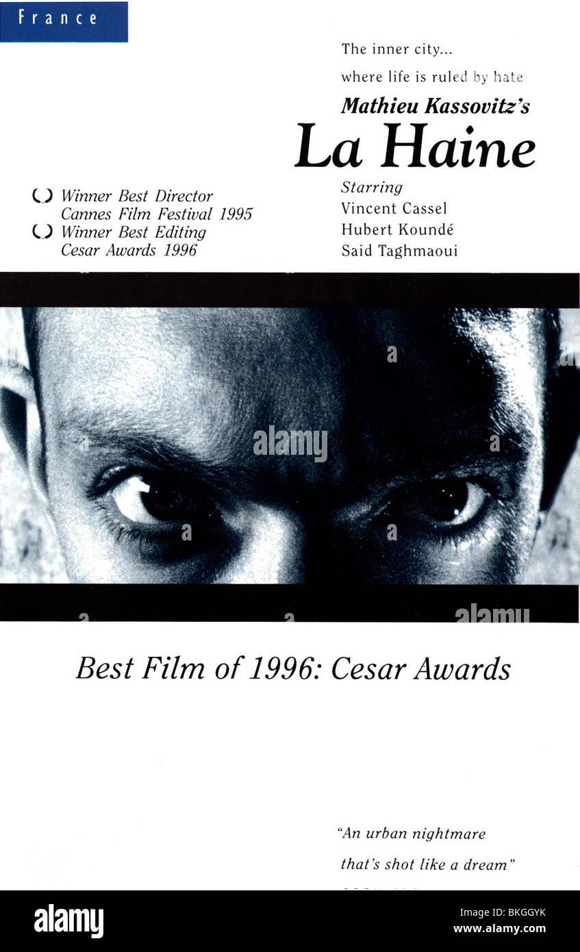 LA HAINE -1995 POSTER - Stock Image
