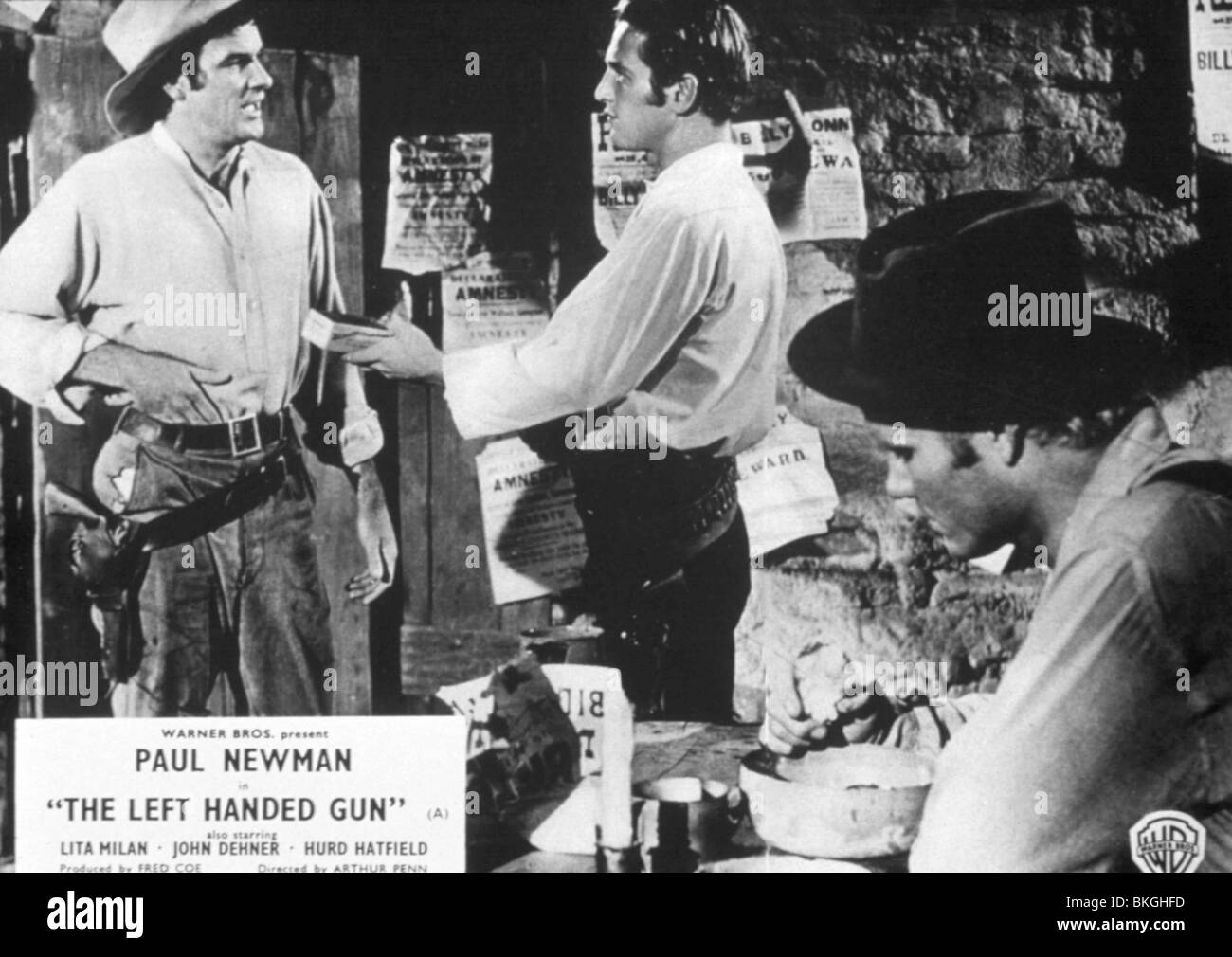 THE LEFT HANDED GUN (1958) PAUL NEWMAN TLHG 015 - Stock Image